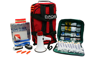 Site Evacuation Kit - Business Emergency Preparedness | SURVIVAL BAG UK BusinessContinuity and Emergency Preparedness supplies | EVAQ8.co.uk the UK's Emergency Prepardness specialist SURVIVAL BAG UK